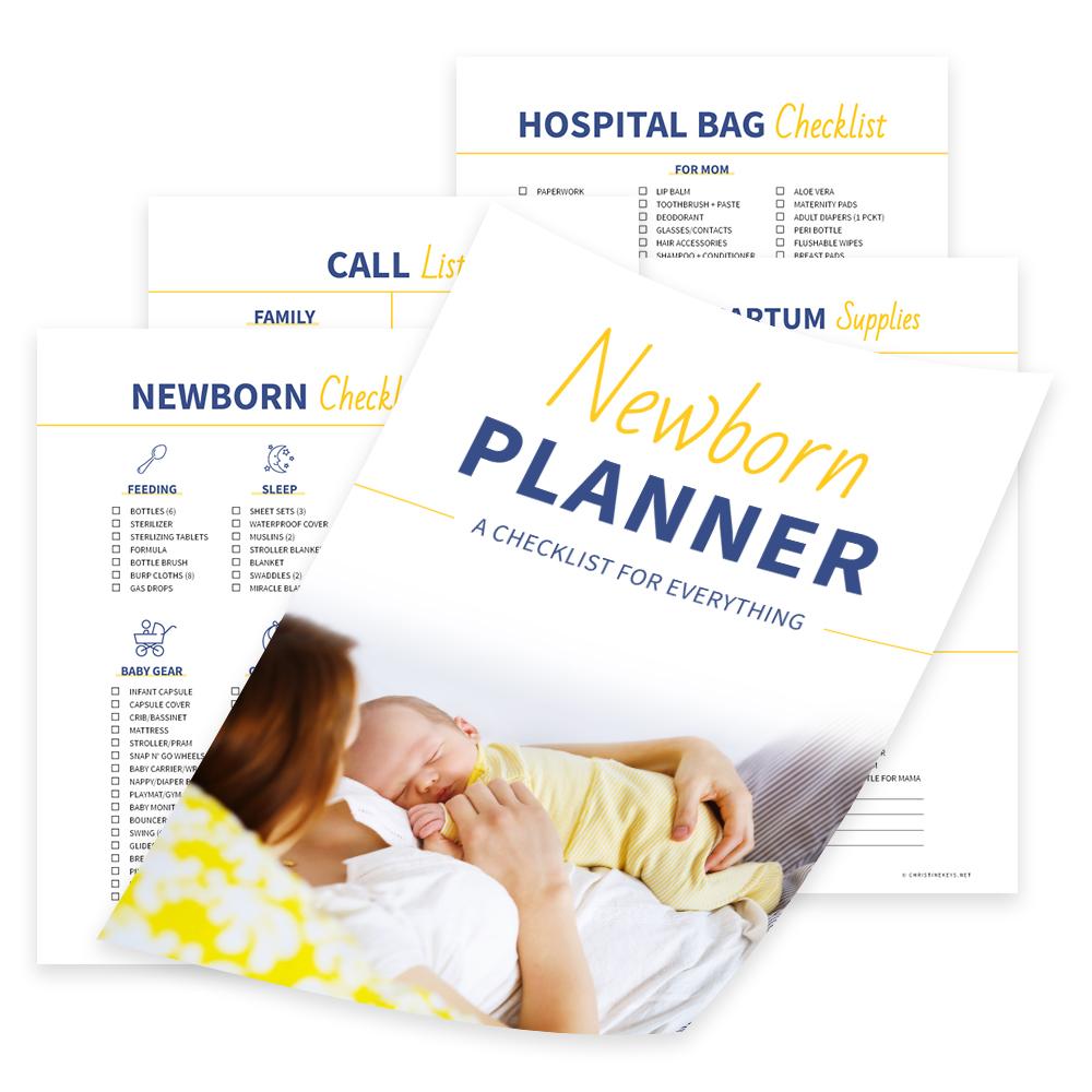 newborn planner