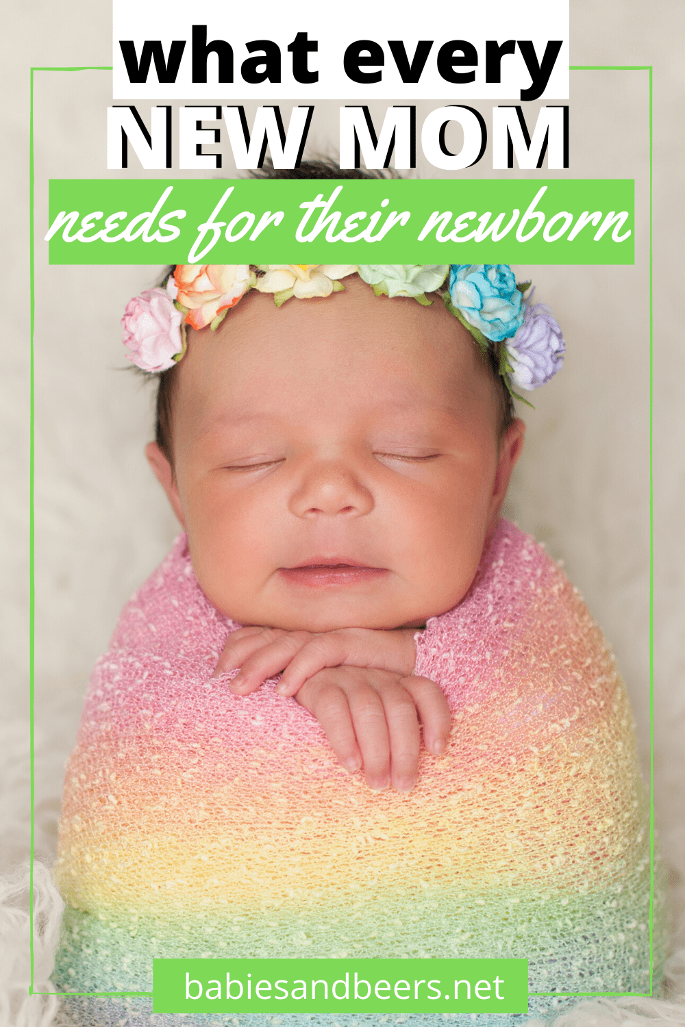 newborn must have items
