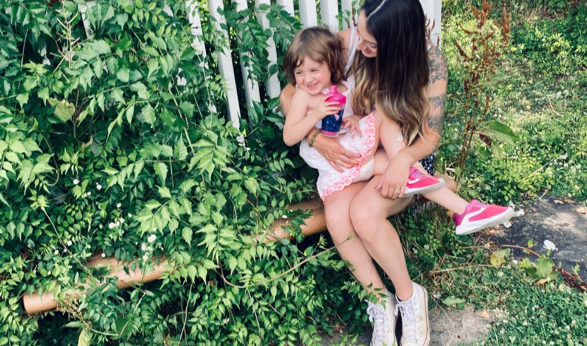 being a girl mom